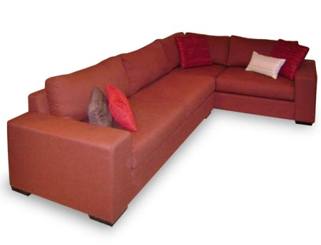Columbia Wide Arm modular sofa corner suite