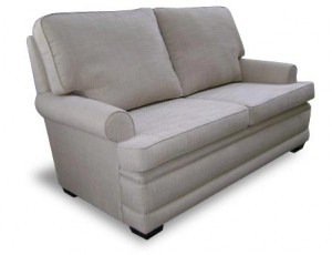 Hampton round arm 2 seat sofa