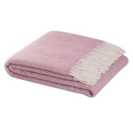 Hildasay Throw - Dusty Pink