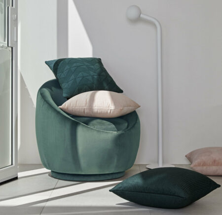 Piccolo Cushion - Blush