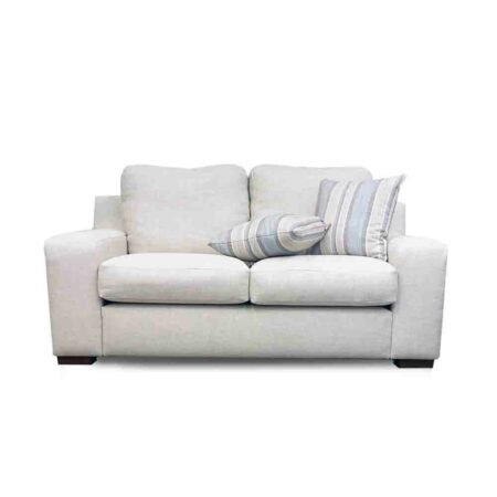 Sally Sofa in neutral color and lovely Linen fabric