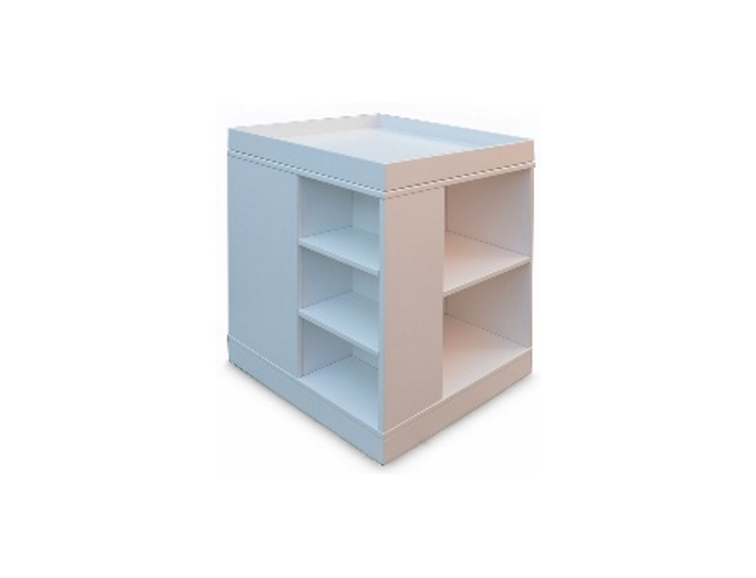white sidetable