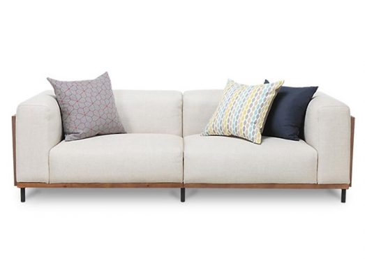 Songdream sofa SF9723 2 seat couch in white