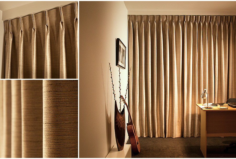 Twin Pleated Drapes