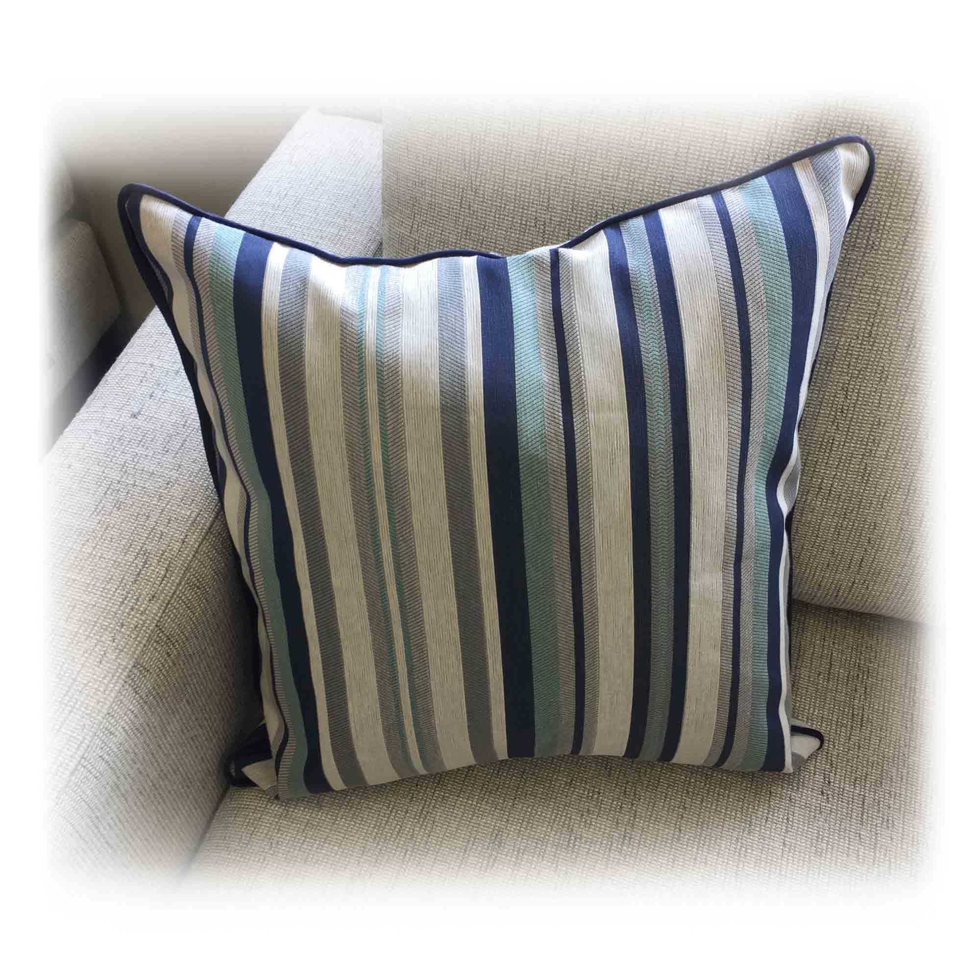 Warwick Striped Cushion Wilson Amp Nicholson