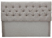 well padded upholstered headboard