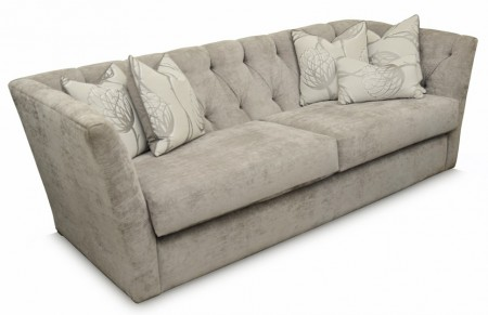 Flaunt sofa, grey 2.5 seat couch